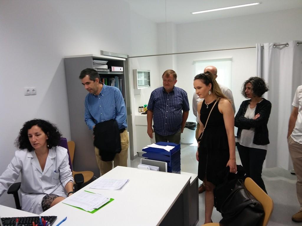 Centro de Salud de Galeras. Consellería de Sanidade, Servizo Galego de Saúde, ACIS, DHI, Gobierno de Baja Silesia